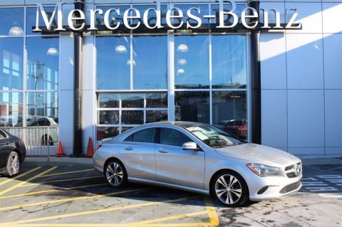 Pre-Owned 2017 Mercedes-Benz CLA250 4MATIC Coupe