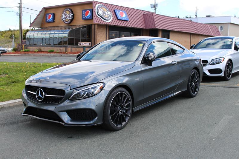new 2018 mercedes benz c43 amg 4matic coupe 2 door coupe. Black Bedroom Furniture Sets. Home Design Ideas